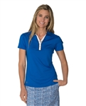 Chase54 Medinah Short Sleeve Polo - Cobalt