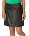Chase54 Natal Stretch Golf Skort - Black Crackle Leather