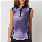 Chase54 Bold Sleeveless Polo - Multi