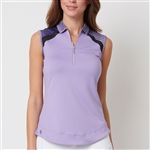 Chase54 Sublime Sleeveless Polo - Lavender