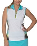 Chase54 Flapper Sleeveless Golf Polo