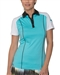 Chase54 Moonshine Short Sleeve Golf Polo - Celeste Blue