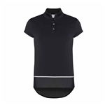 Chase54 Fortune Cap Sleeve Mock - Black