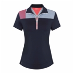 Chase54 Adrift Short Sleeve Polo - Navy