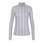 Chase54 Thrive Mock Pullover - Silver