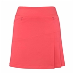 "Chase54 18"" Drifter Golf Skort - Spiced Coral"