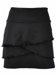 EllaBelle Black Flirt Golf Skirt