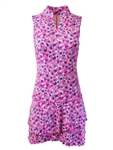 EllaBelle Sleeveless Chacha Dress - Confetti