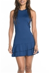 EllaBelle Racie Racerback Dress - Navy