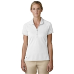 Adidas Golf Essentials Pique Polo White