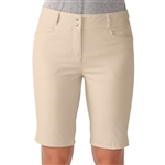 Adidas Essential Bermuda Golf Short  Light Khaki