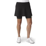 Adidas Adistar 3-Stripe Golf Skort - Black