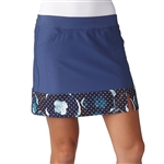 Adidas Golf Adistar Printed Hem Skort Raw Purple