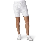 "Adidas Golf Diamond Print 7"" Short - White/Black"