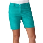 "Adidas Golf Diamond Print 7"" Short Nordic Green"