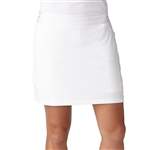 Adidas Essentials Rangewear Golf Skort White