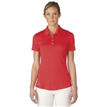 Adidas Essentials 3-Stripe Short Sleeve Polo - Ray Red