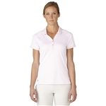Adidas Golf Essentials Pique Polo - Rose Shadow