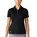 Adidas Essentials 3-Stripes Short Sleeve Black Polo