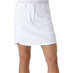Adidas Essentials 3-Stripe Golf Skort White