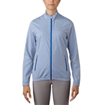 Adidas Essentials Full Zip Wind Jacket - Blue Melange