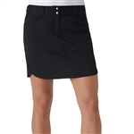 Adidas Essentials 3-Stripe Golf Skort- Black