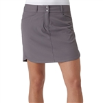 Adidas Essentials 3-Stripe Golf Skort - Trace Grey