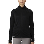 Adidas Essentials 3-Stripe Textured Black Jacket
