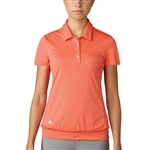 Adidas Chevron Tunic Polo  - Easy Coral
