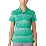 Adidas Essentials 3-Stripe Novelty Polo - Core Green/White