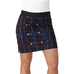 Adidas Ultimate Adistar Black/Mystery Ink Printed Golf Skort