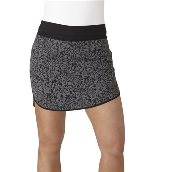 "Adidas Rangewear 16"" Fashion Black Heather Golf Skort"