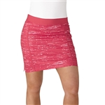 Adidas Ultimate Adistar Energy Pink Printed Golf Skort
