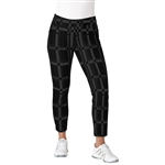 "Adidas Ultimate Adistar 27"" Printed Black Ankle Pant"