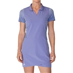 Adidas Rangewear Chambray Purple Golf Dress
