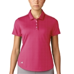 Adidas Microdot Energy Pink Short Sleeve Polo