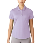 Adidas Microdot Short Sleeve Polo - Purple Glow