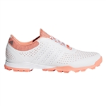 Adidas W Adipure Sport Shoe - White/Coral