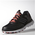 Adidas Adistar Sport Golf Shoe - Black/Sunset Coral