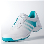 Adidas Tech Response Golf Shoe - White/Energy Blue