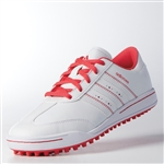 Adidas Junior Adicross V Golf Shoe - Core Pink/White