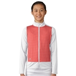 Adidas Girls Fashion Core Pink/White Wind Jacket