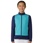 Adidas Girls Fashion Energy Blue/Night Sky Wind Jacket