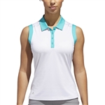Adidas Ultimate 2-Tone Sleeveless Polos
