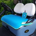 GolfChicBags Quilted Golf Cart Seat Cover