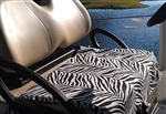 GolfChicBags Zebra Seat Cover