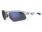 Sundog Stack TrueBlue™ Lens Sunglasses - Grey/Crystal