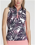 Tail Cindy Sabal Palm Sleeveless Mock