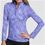 Tail Cordele Long Sleeve Mock - Palm