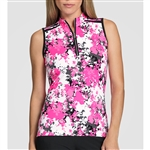 Tail Dawson Sleeveless Mock - Sporty Floral